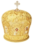 Mitres: Embroidered Bishop mitre no.52
