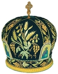 Mitres: Embroidered Bishop mitre no.521
