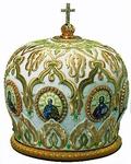 Mitres: Embroidered Bishop mitre no.527