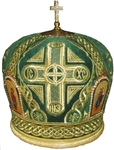 Mitres: Embroidered Bishop mitre no.57b
