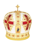 Mitres: Embroidered Bishop mitre no.72