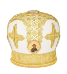 Mitres: Embroidered Bishop mitre no.77
