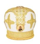 Mitres: Embroidered Bishop mitre no.77