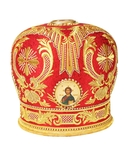 Mitres: Embroidered Bishop mitre no.84