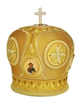 Mitres: Embroidered Bishop mitre no.95