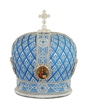 Mitres: Embroidered Bishop mitre no.98