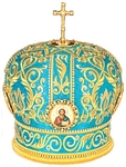 Mitres: Embroidered mitre Bishop no.1