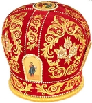 Mitres: Embroidered mitre no.11
