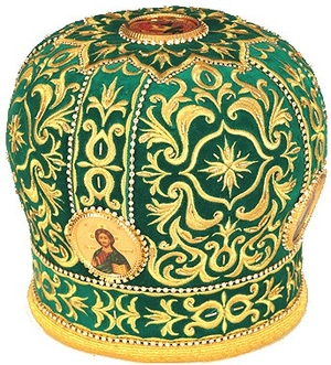 Mitres: Embroidered mitre no.13