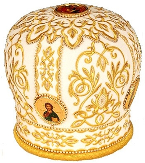 Mitres: Embroidered mitre no.14a