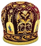 Mitres: Embroidered mitre no.2