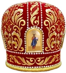 Mitres: Embroidered mitre no.7