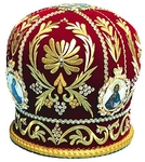 Mitres: Embroidered Priest mitre no.524