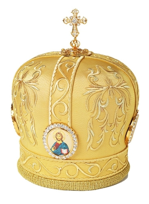 Mitres: Embroidered mitre no.541