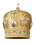 Mitres: Embroidered mitre no.119