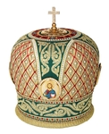 Mitres: Embroidered mitre no.118