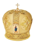 Mitres: Embroidered mitre no.115