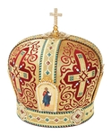 Mitres: Embroidered mitre no.114