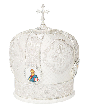 Mitres: Embroidered mitre no.113