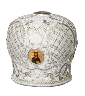 Mitres: Embroidered mitre no.100