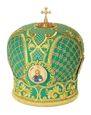 Embroidered Bishop mitre no.100