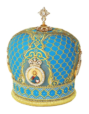 Embroidered Bishop mitre no.120