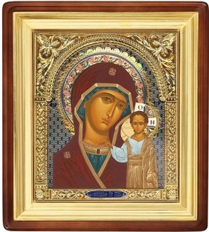 Religious icons: the Most Holy Theotokos of Kazan - 26