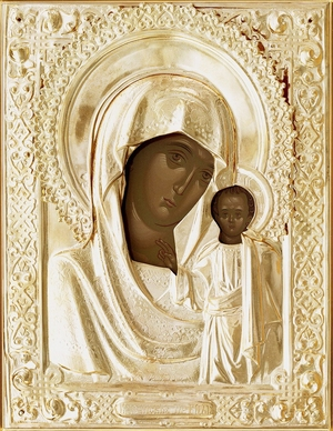 Religious icons: the Most Holy Theotokos of Kazan - 27
