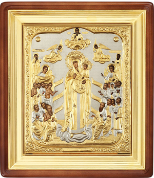Religious icons: the Most Holy Theotokos the Joy of All Who Sorrow