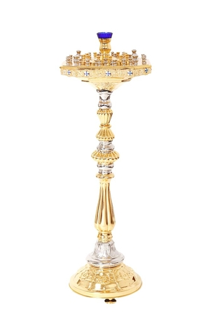 Church floor candle stand no.31 (51 candles)