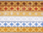 Vestment trims: Bogorodsk Cross galloon