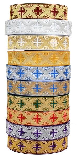 Vestment trims: Bogorodsk Cross galloon