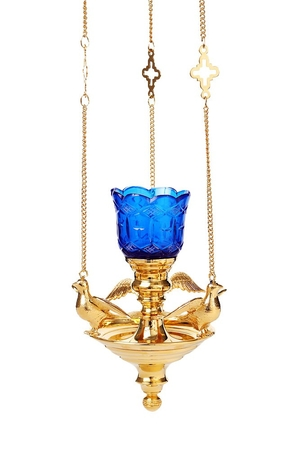 Hanging oil vigil lamp no.98