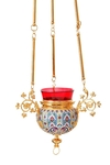 Hanging oil vigil lamp no.38