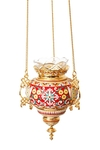Hanging oil vigil lamp no.40