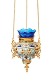 Hanging oil vigil lamp no.40a