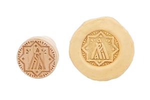 Orthodox prosfora Theotokian seal - 2 (60 mm)