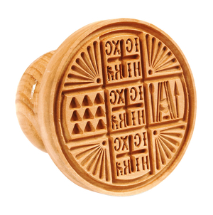 Russian Orthodox prosphora seal NIKA seal no.15 (Diameter: 80-200 mm)