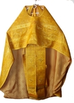 "Russian Priest vestment set (meallic brocade): 47-49"" (European size: 60-62), height-  6'2""-6'4""-73"" (189-194 cm) - 40% off!"