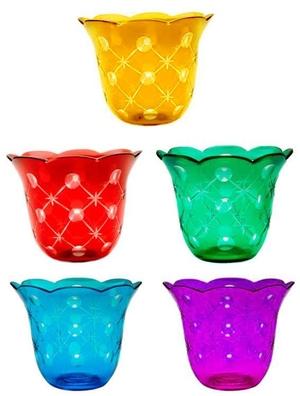Church votive glass no.4 (applique) (200 mL)