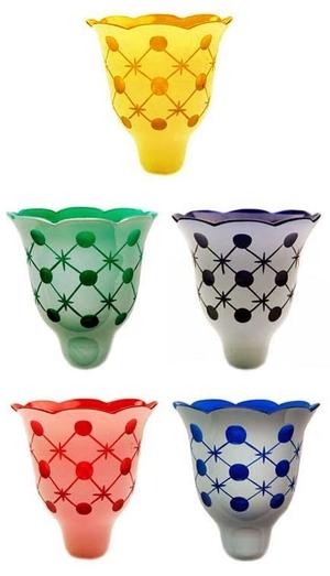 Church votive glass no.5 (milky) (180 mL)