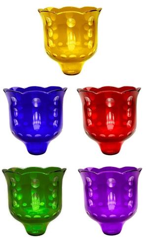 Church votive glass no.7 (applique) (700 mL)