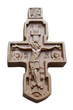 Baptismal cross no.100