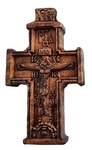 Baptismal cross no.125 with icons