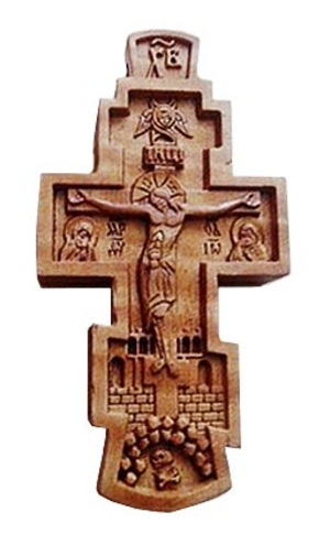 Baptismal cross no.777 with icons