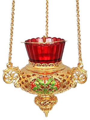 Vigil lamps: Oil lamp no.39