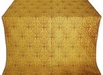 Slavonic Cross Greek metallic brocade (yellow/gold)