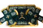 Embroidered chalice covers (veils) - Palm Sunday