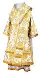 Bishop vestments - rayon brocade S4 (white-gold)