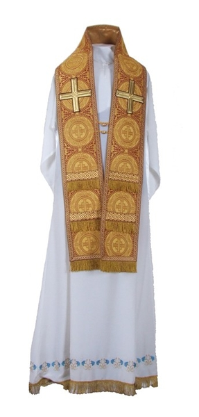 Bishop vestments: Small omophorion